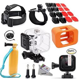 Deyard S-06 27in1 Accessories Bundle for GoPro HERO5 Session