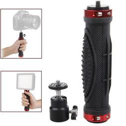 1/4 Handheld Handle Hand Grip Holder Stand Tripod Stabilizer
