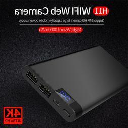 H11 10000mAh DVR Recorder Power Bank HD 1080P WIFI Hidden Ca
