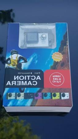 1080HD Action Camera Full HD Camcorder Waterproof DV Sports