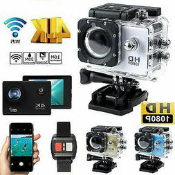 1080P 4K Full HD Waterproof WiFi Sport Action Camera Travel