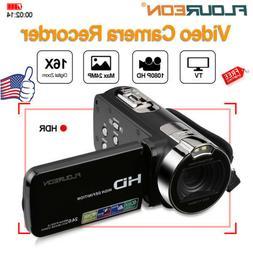 1080P FULL HD 48MP 16X ZOOM Portable 2.7'' LCD Digital Video