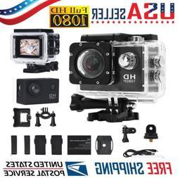 1080P HD Cam Camcorder Ultra Sport Action Waterproof DVR Cam