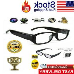 1080P HD Camera Glasses Spy Hidden Eyeglass DVR Video Eyewea