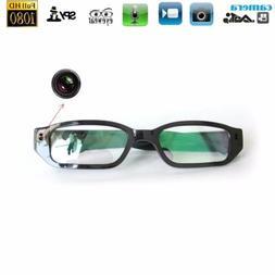 1080P HD Hidden Spy Camera Glasses Eyewear Audio Video Recor
