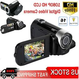 1080P HD LCD Digital Video Camera TFT LED 16X Zoom DV AV Cam