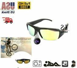 1080P HD outdoor Sunglasses Camera Spy Hidden DVR Video Surv