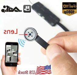 1080P HD wireless WIFI IP mini hidden DIY secret SPY Button