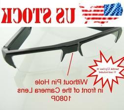 1080P Spy Hidden Half Frame No Lens Hole Glasses Camera Vide