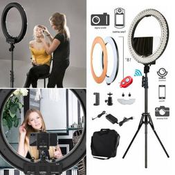 "12"" 240Pcs LED Ring Light Dimmable 6200K for SmartPhone/Came"