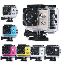 12MP Ultra HD 1080P Waterproof Action Camcorder Sports DV Ca