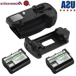 MB-D15 Vertical Battery Grip & 2PCS EN-EL15 Battery for Niko
