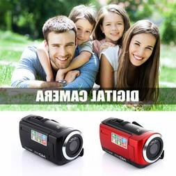 16 Million Pixels Digital Camera Camcorder 1080p Lithium Bat