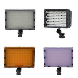 160 LED Photo Studio Video Light with Filters For Canon Niko