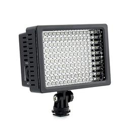 160 LED LD-160 Camera Video Light By Kshioe, Dimmable Ultra