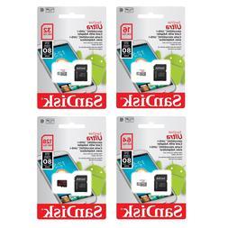16GB 32GB 64GB 128GB SanDisk Ultra Micro SD Card Class10 80M