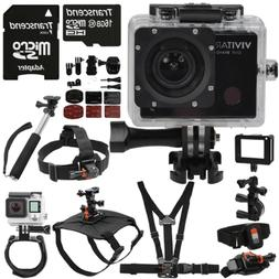 Vivitar 16MP Ultra HD 1440p 4K Wifi Waterproof Sport and Act