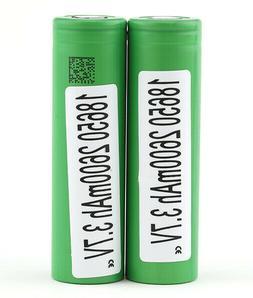 18650 2600 mAh 3.7V high drain rechargeable green  battery