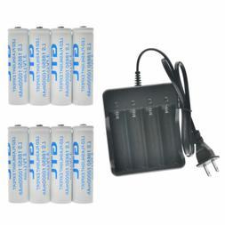 18650 Battery 10000mAh Li-ion 3.7V Rechargeable Batteries fo