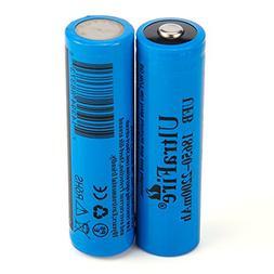 Ultrafire 18650 2200mAh MAX Battery 3.7V Li-ion rechargeable