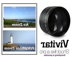 2.2x Hi Definition Telephoto Lens For Canon Vixia HF G40