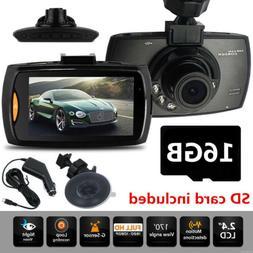 2.4'' LCD Car Camera DVR Night Vision Vehicle Camcorder  Das