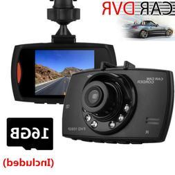 2.4'' LCD Car Camera DVR Vehicle Video Camcorder G-Sensor Da