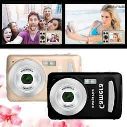 2.7'' HD Screen Digital Camera 24MP Anti-Shake Face Detectio