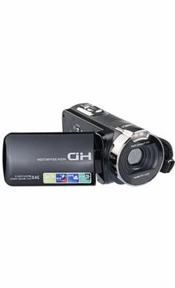 "PowerLead 2.7"" LCD Screen Digital Video Camcorder 24MP Digit"