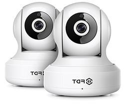2-PACK-FDT 720P HD WiFi IP Camera  Indoor Wireless Security