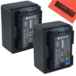 BM Premium 2 BP-718 Batteries for Canon Vixia HFR80, HFR82,