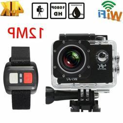 """2"""" EK7000 4K WIFI Sports Action Camera Ultra HD Waterproof D"""