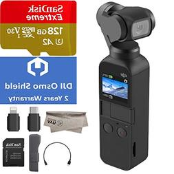 2018 DJI Osmo Pocket Handheld 3 Axis Gimbal Stabilizer with