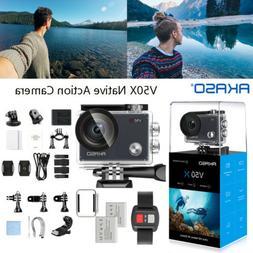 2021 AKASO V50 Pro 4K HD Action Camera WiFi Touch Screen Wat
