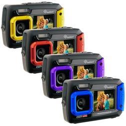 Ivation 20MP Underwater Waterproof Digital Camera w/Full-Col