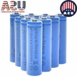 20x AA Rechargeable Batteries NiMH 3000mAh 1.2v Garden Solar