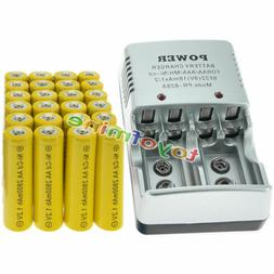 24 AA Rechargeable Batteries NiCd 2800mAh 1.2v Solar Light L