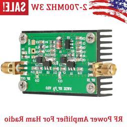 2MHZ-700MHZ 3W HF VHF UHF FM transmitter