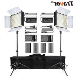 2Pack 600LED Video Light Studio Camera Photography Lighting