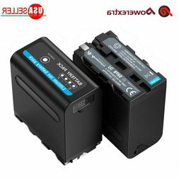 2Pack 7.4V Li-ion Battery For Sony NP-F970 NP-F975 NP-F960 N