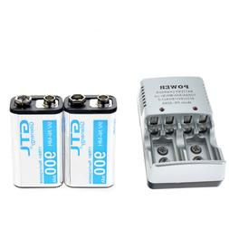 2X Durable 9V 9 Volt 900mAh Power Ni-Mh Rechargeable Battery