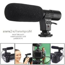 3.5mm Universal Microphone Stereo Mic for Canon Nikon DSLR C
