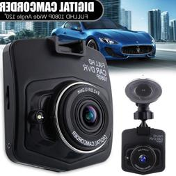 3 Lens 4'' Car DVR 1080P Dash Dashboard Camera Rearview Cam