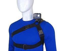 STUNTMAN 360 - Shoulder, Chest and Hip Harness for Action Ca