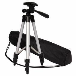 360° Professional Aluminum Alloy Camera Tripod for DSLR Cam