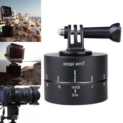 360° Rotating Panning Time Lapse Stabilizer Tripod Adapter