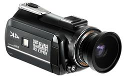 4K Ultra HD Infrared Night Vision and Full Spectrum Camcorde