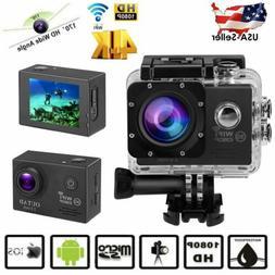 Pro 4K Action Camera WiFi HD Waterproof Sports Camcorder Und