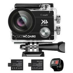 4K Action Camera 16Mp Vision 3 Underwater Waterproof Camera
