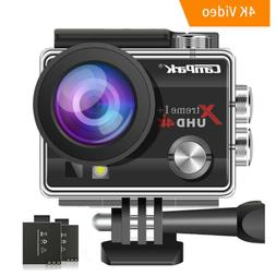 4K Action Camera Campark 16MP WiFi Sports Cam Underwater 30M